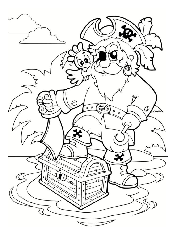 Coloriages de pirates à imprimer - galerie photo Pirates ...