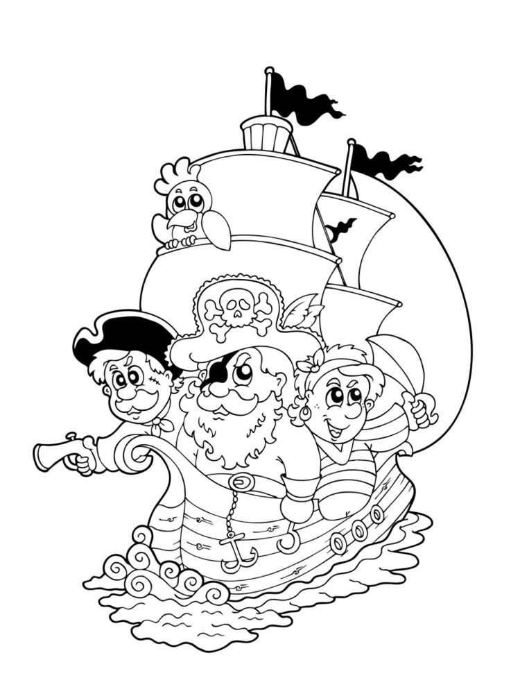 Coloriages de pirates imprimer galerie photo pirates - Coloriage divers a imprimer ...