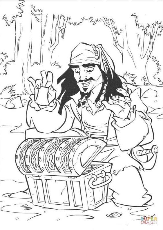Coloriages de pirates imprimer galerie photo pirates corsaires jack sparrow et son trsor colorier coloriages de pirates imprimer altavistaventures Choice Image