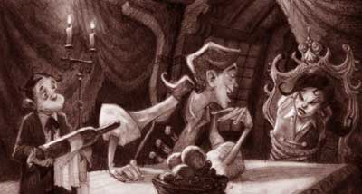 Concept art par Steve Purcell Monkey Island