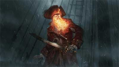 Le démon pirate LeChuck Monkey Island