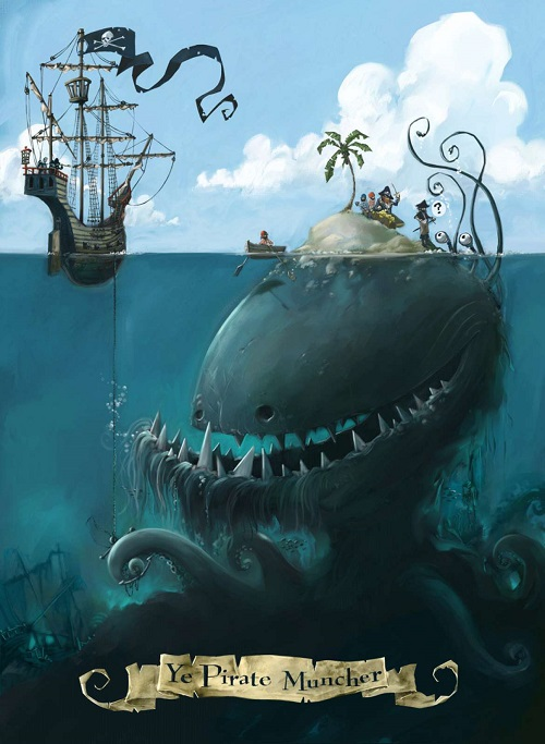 The pirate cruncher - Les maisons & îles de pirates