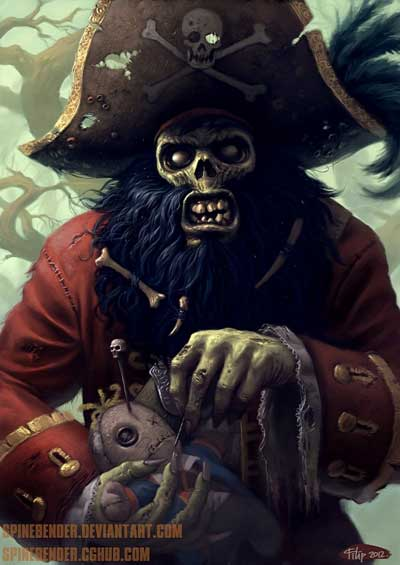 Fan art de Filip Acovic Monkey Island
