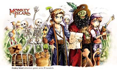 Fan art de Lyramichan Monkey Island