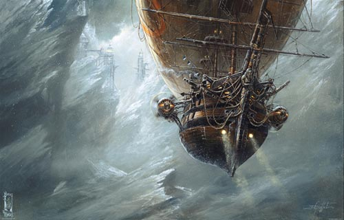 Le passage Nord - Steampunk pirates