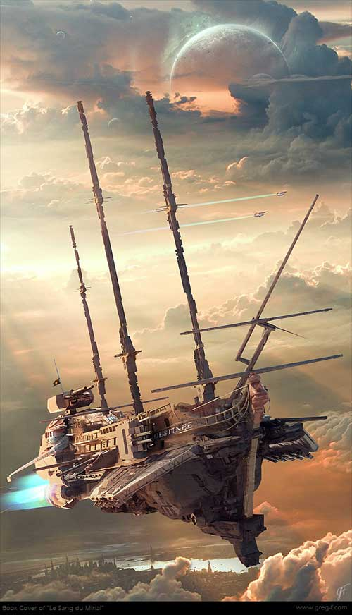 Le Sang du Mirial - Gregory Fromenteau - Steampunk pirates