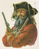 Edward TEACH dit Barbe-Noire (Blackbeard)