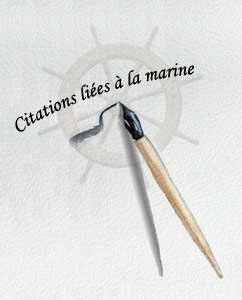 Les citations de marins
