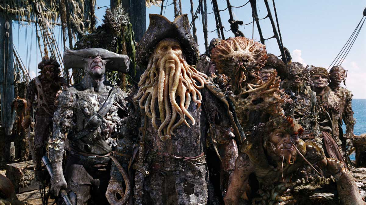 Pirates corsaires j 39 ai entendu parler de davy jones for Davy jones locker fishing