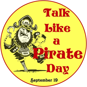 Talk like a pirate day - Parler pirate ! - TLAPD