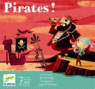 Pirates ! un jeu Djeco