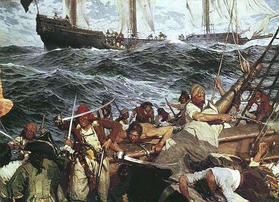 pirates  u0026 corsaires   comment devenait