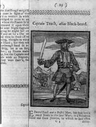 Captain Teach, alias Blackbeard