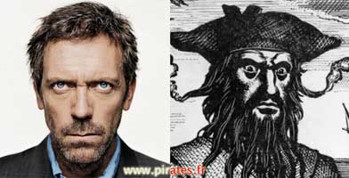 Dr House: Hugh Laurie joue les pirates dans Crossbones