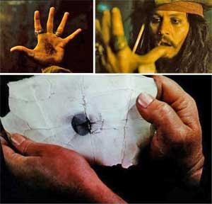 La marque noire pirate (the black spot)
